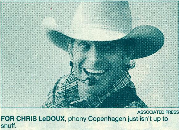Chris Ledoux Country Not The Same Wonderful Copenhagen